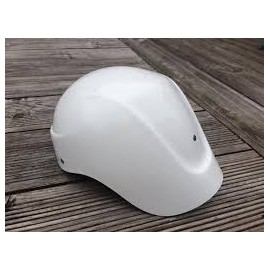 Fiberglass Polo Helmet with long neck tail