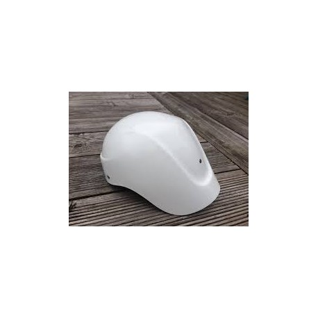 Fiberglass Polo Helmet with long neck tail