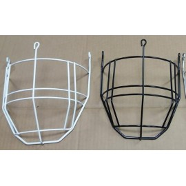 Rustproof painted iron facemask